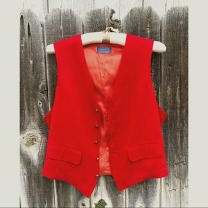 •Vintage 70s Pendleton Unisex Vest•